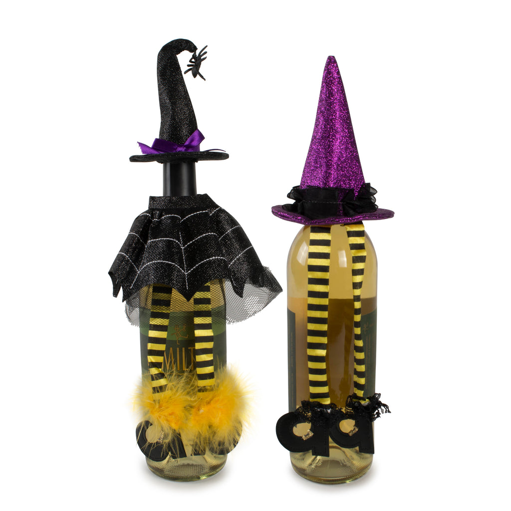 Witch Wine Bottle Outfits Set/2