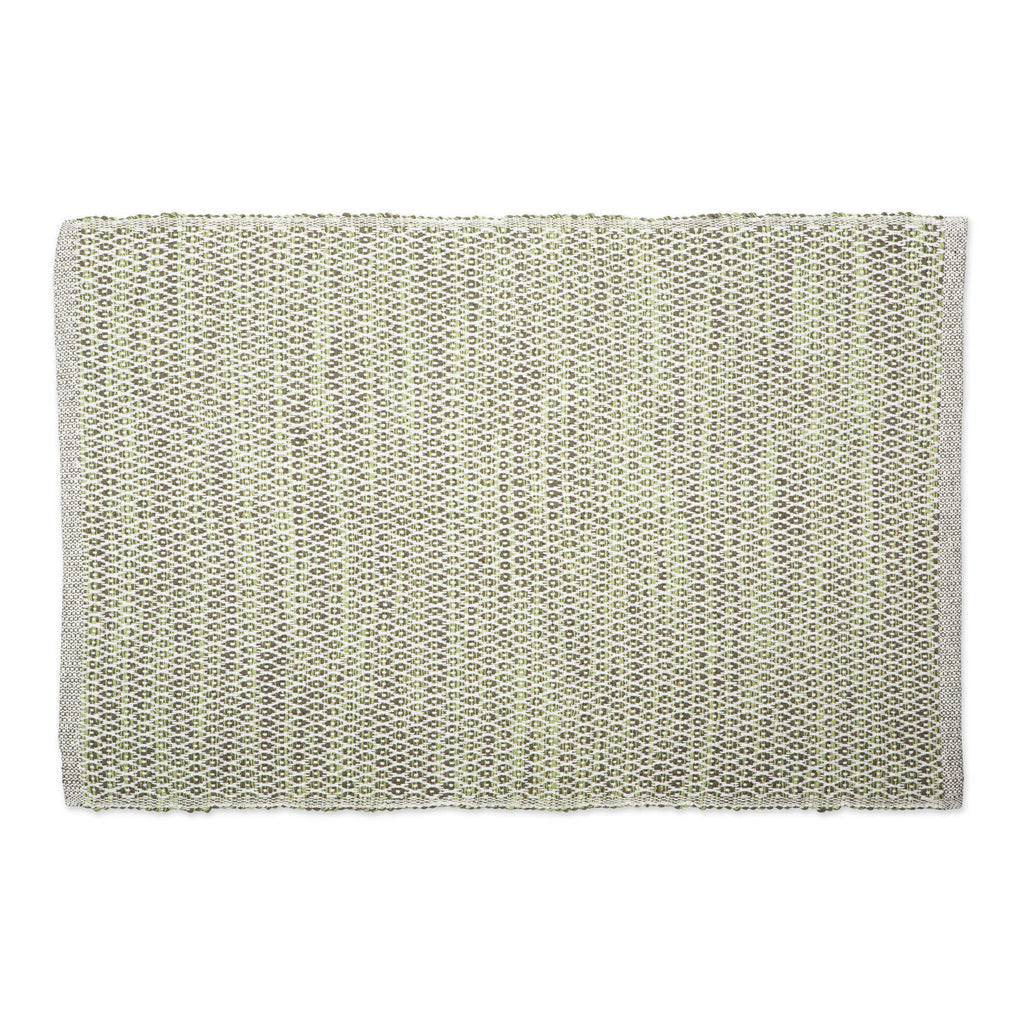 Artichoke Diamond Recycled Yarn Rug 2x3 Ft