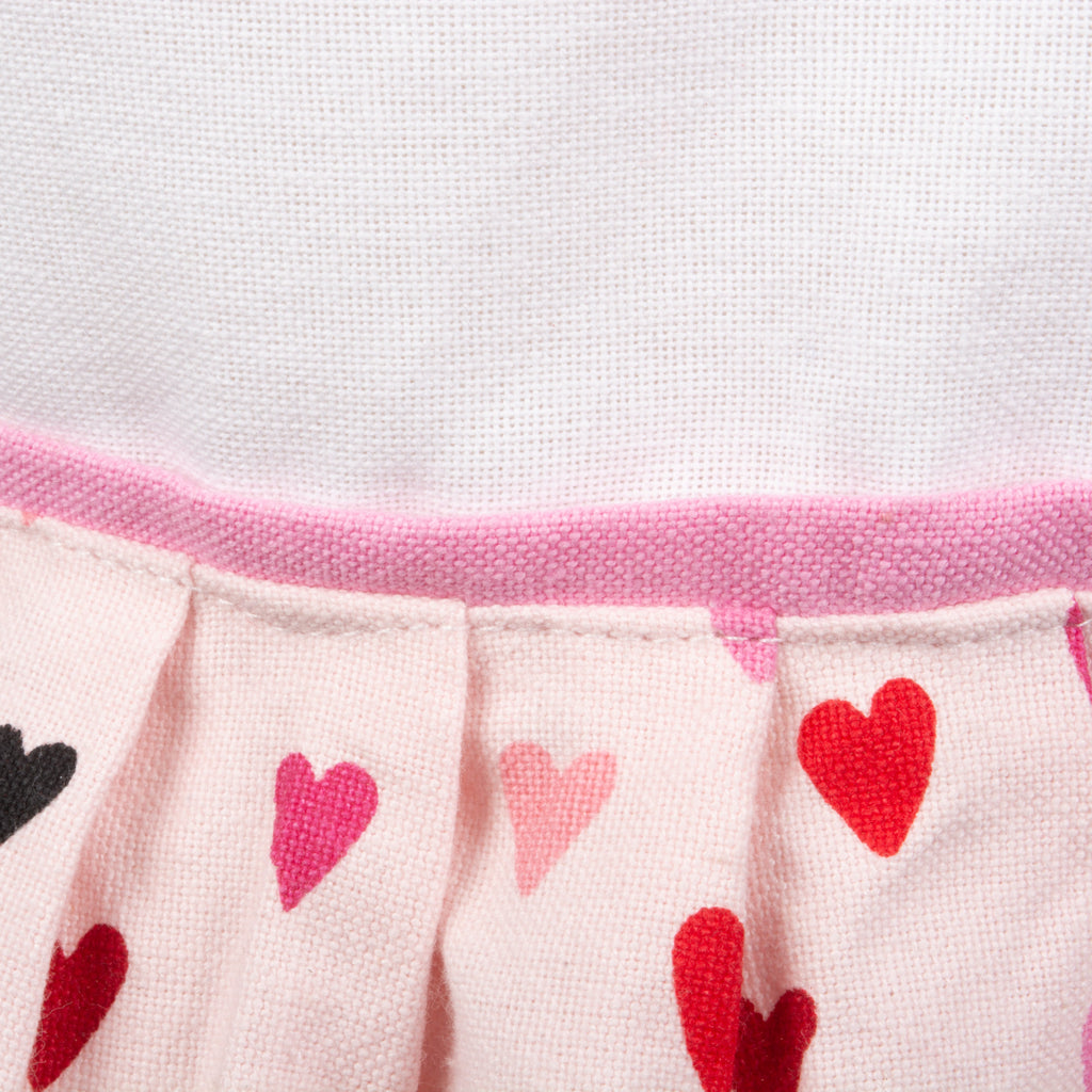 DII Made With Love Print Skirt Apron