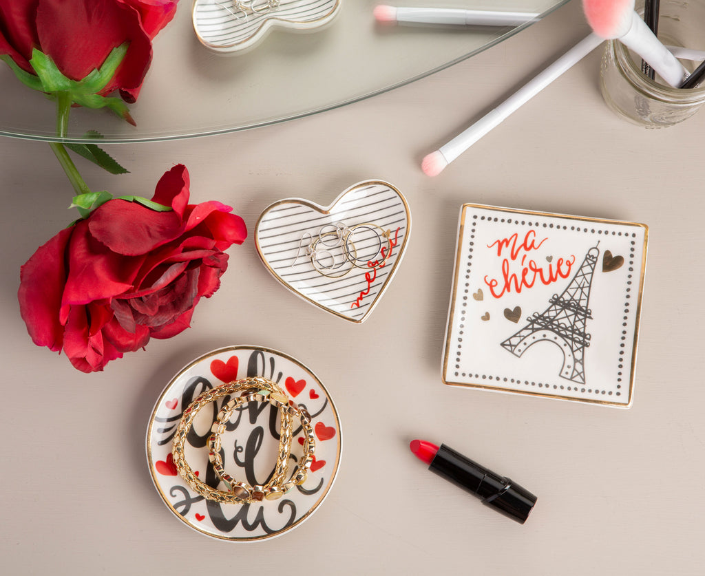 DII I Love Paris Catchall (Set of 3)