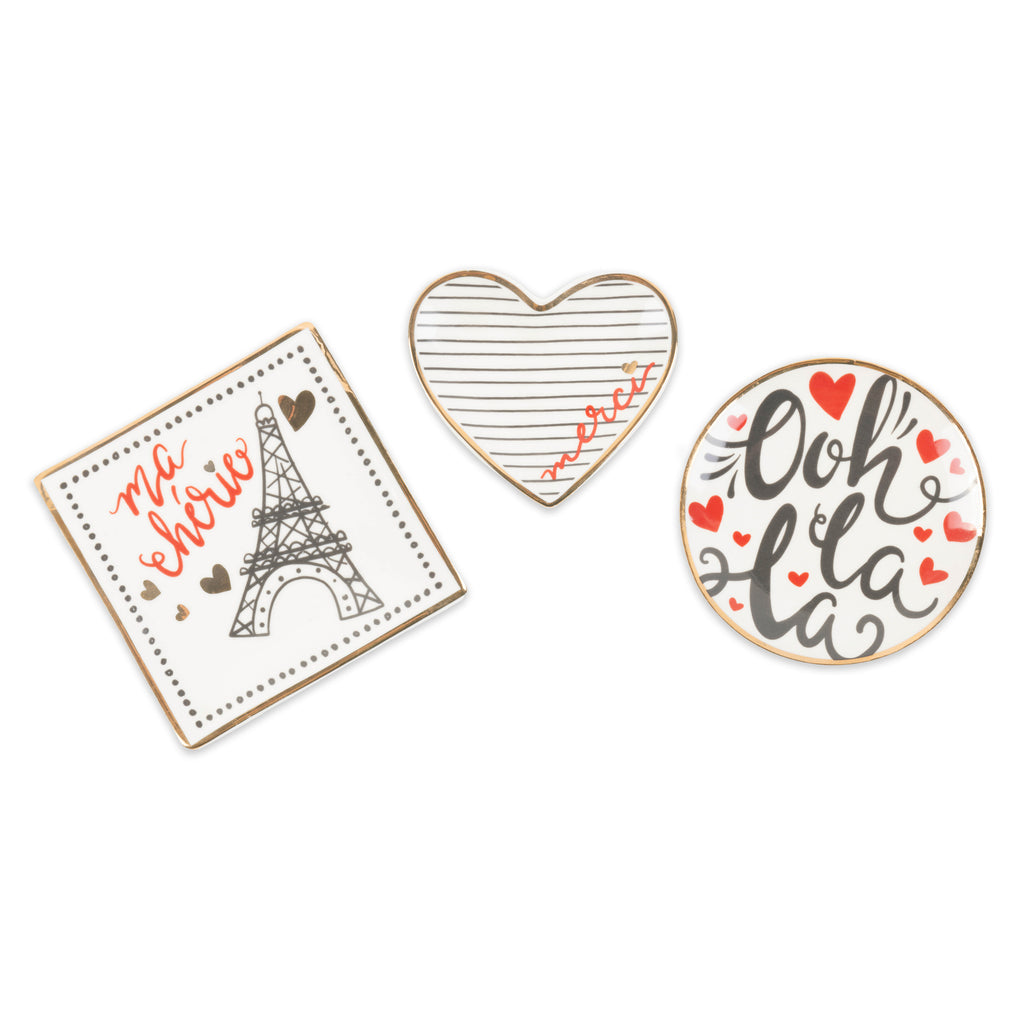 I Love Paris Catchall Set/3