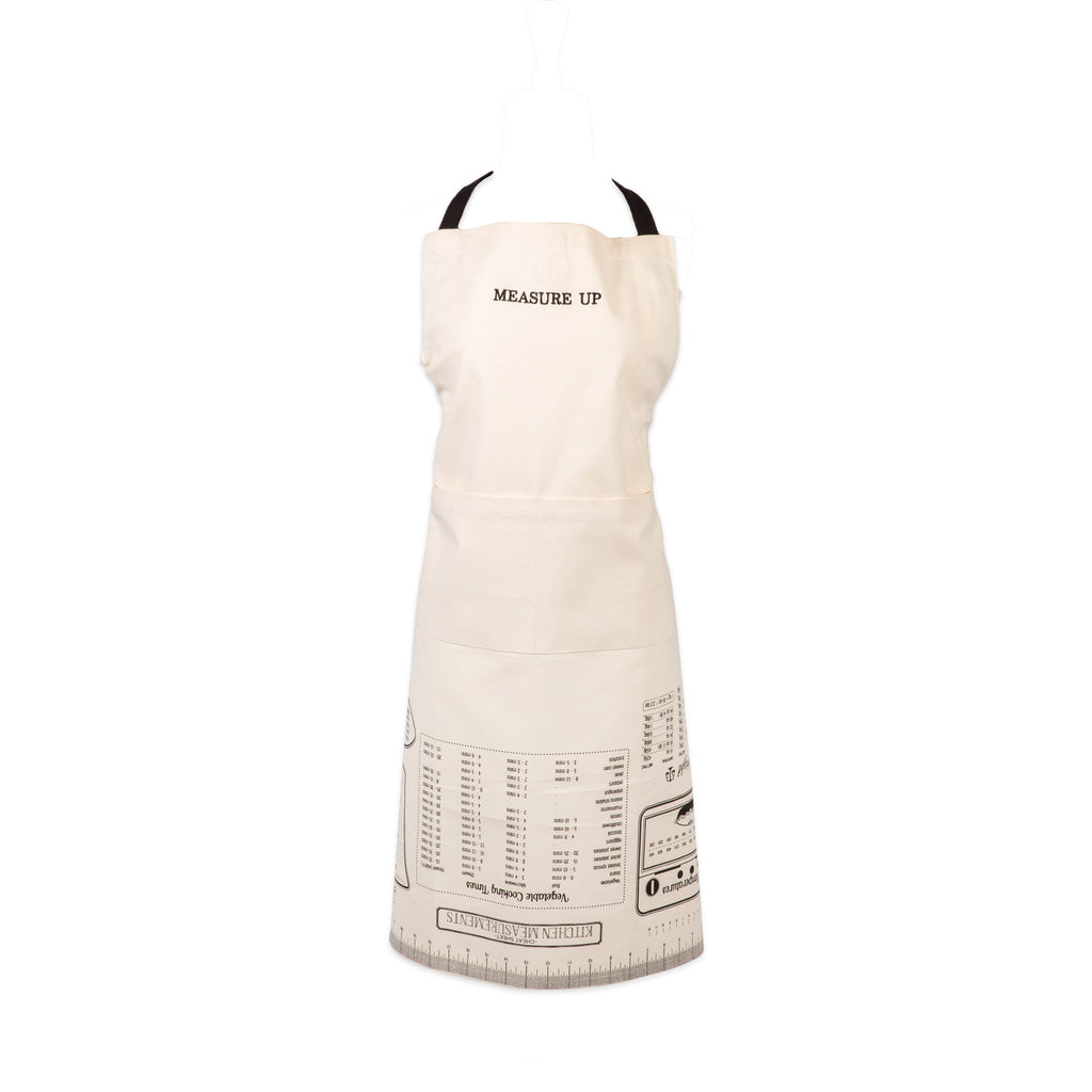 Measure Up Print Chef Apron