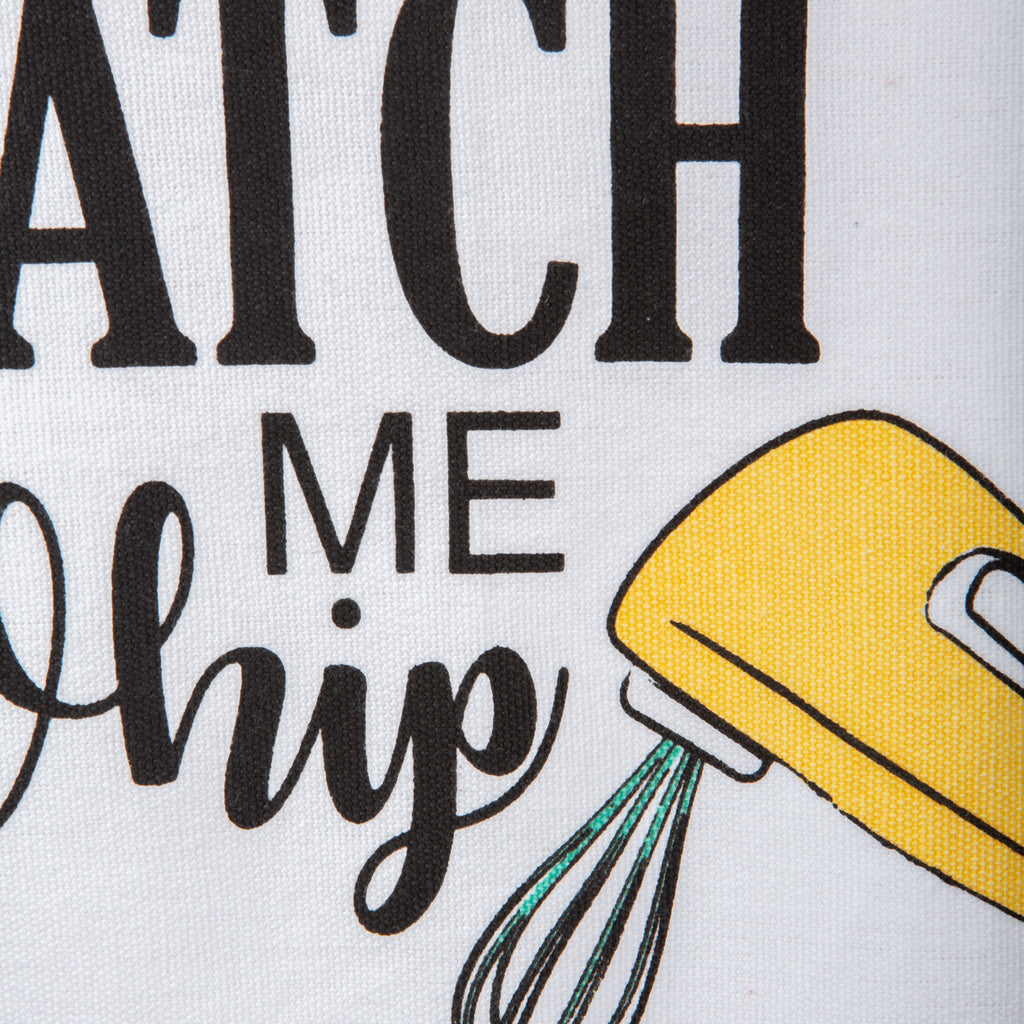 DII Watch Me Whip Print Apron