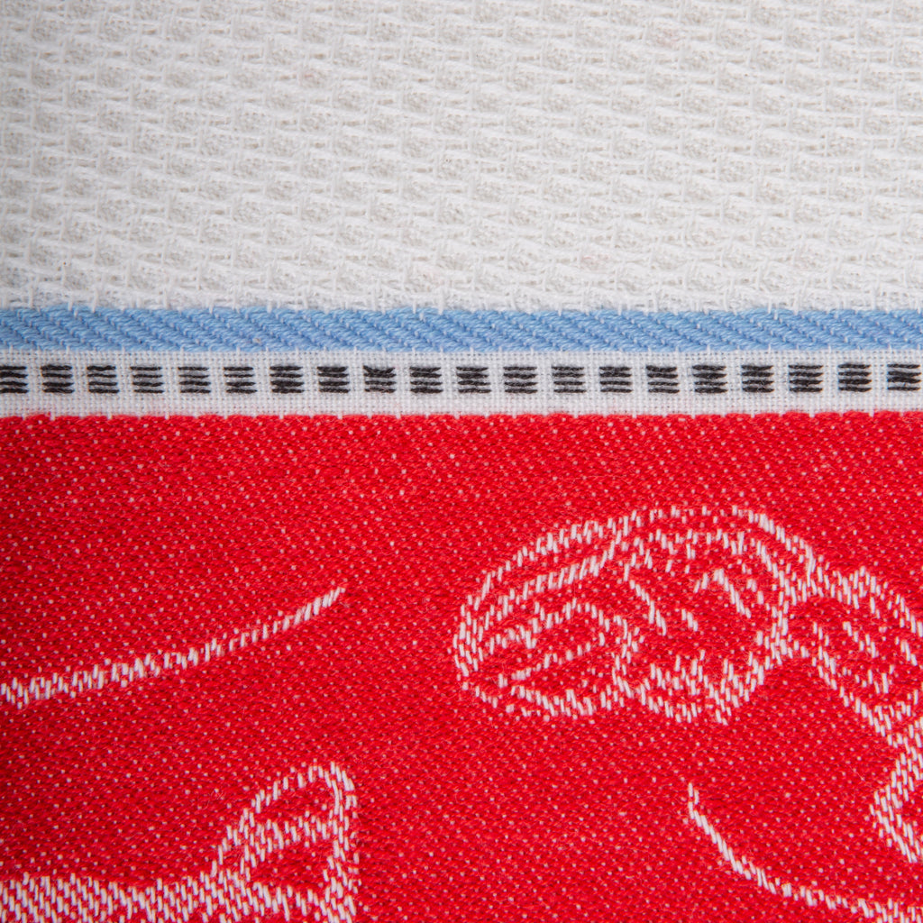DII Lobster Jacquard Dishtowel (Set of 3)