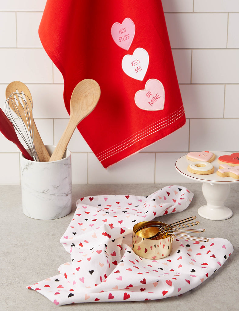 DII Assorted Sweet Talk Dishtowel (Set of 2)