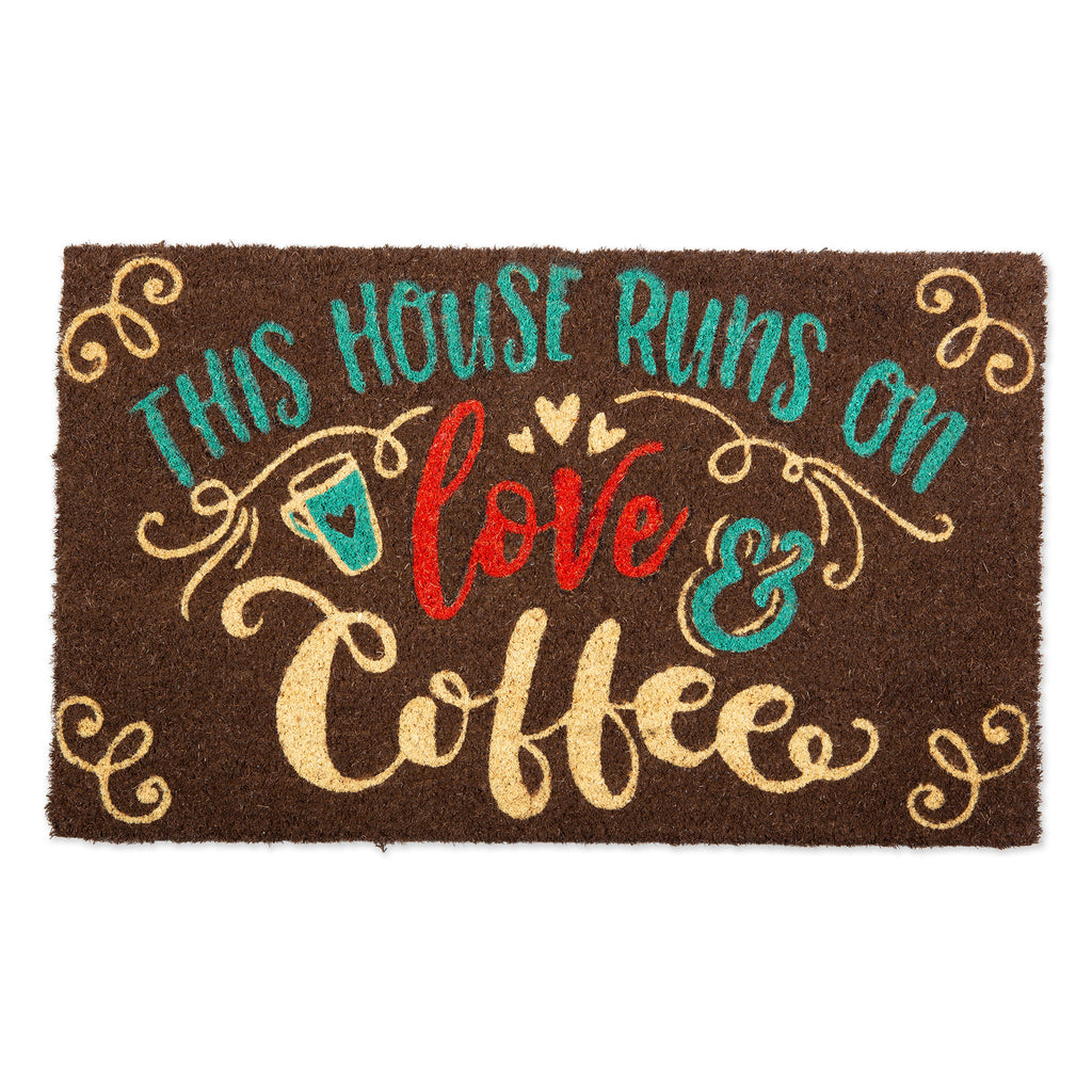 Love & Coffee Doormat