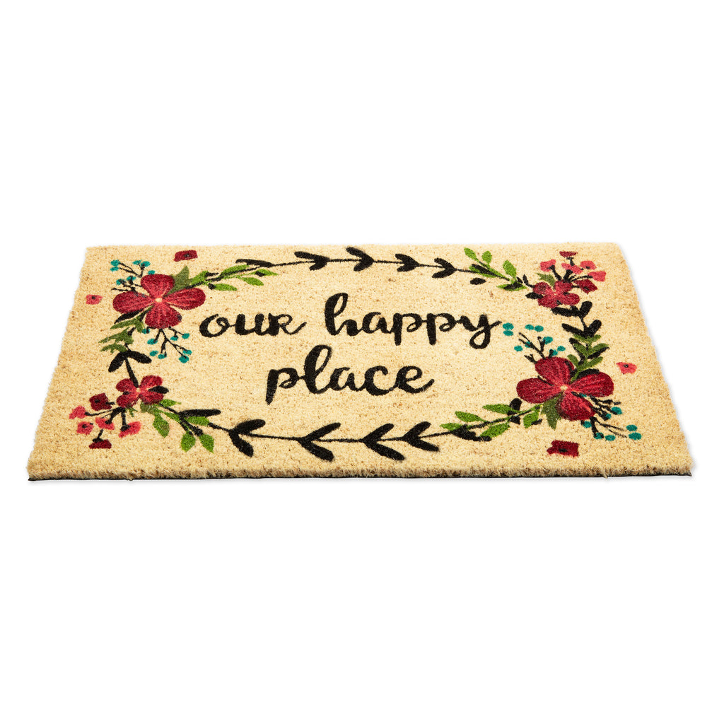 DII Our Happy Place Doormat