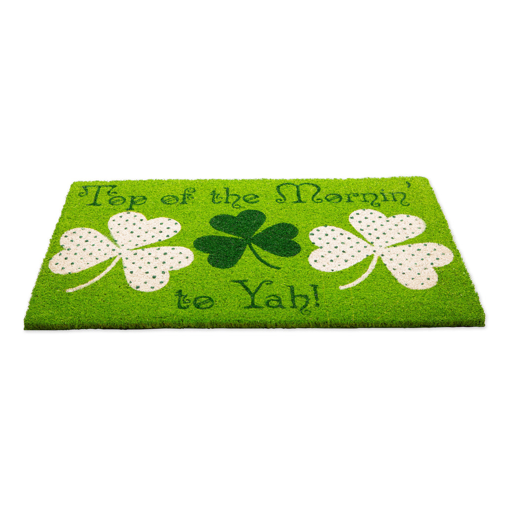 DII Top Of The Mornin To Yah! Doormat