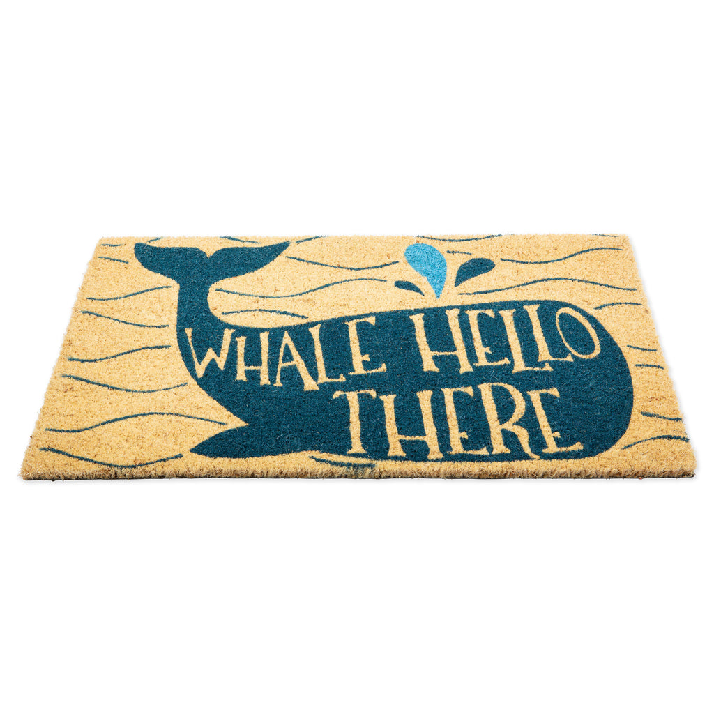 DII Whale Hello There Doormat