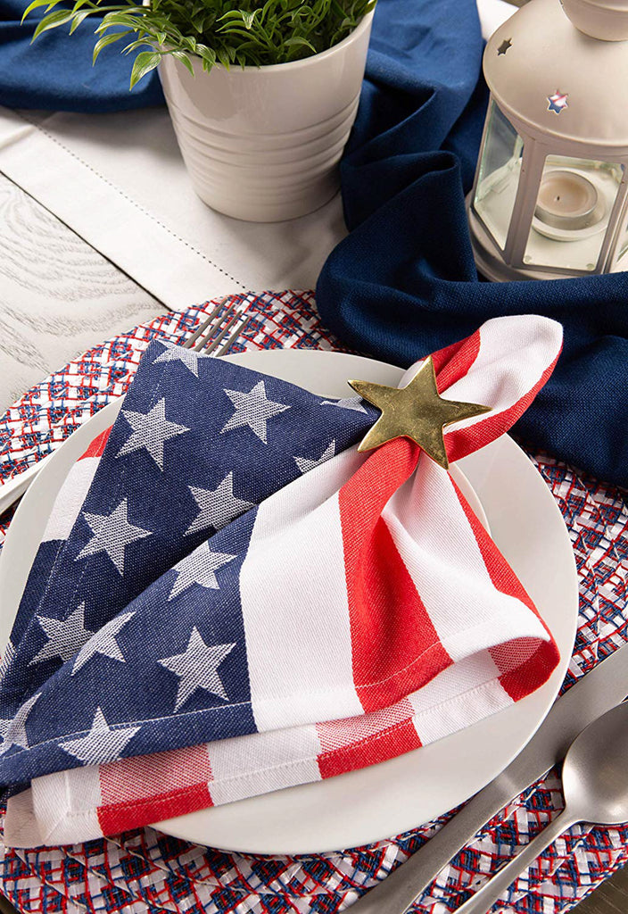 DII Americana Braided Placemat (Set of 6)