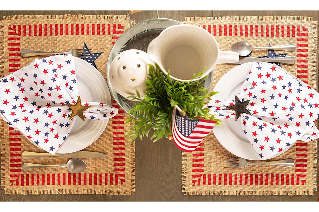 DII 4th Of July Jute Placemat (Set of 6)