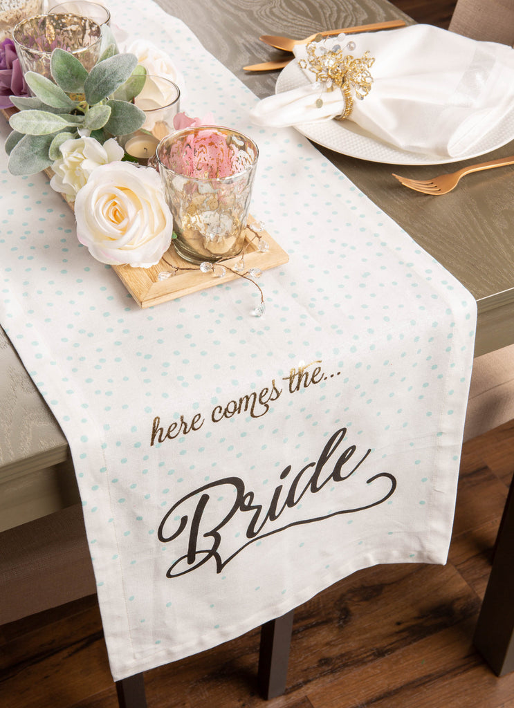 DII Here Comes The Bride Table Runner, 14x72""