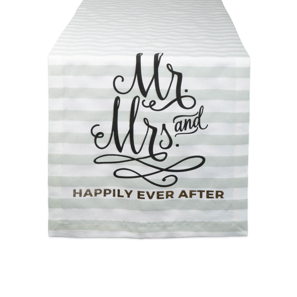 Mr. & Mrs. Table Runner 14x72