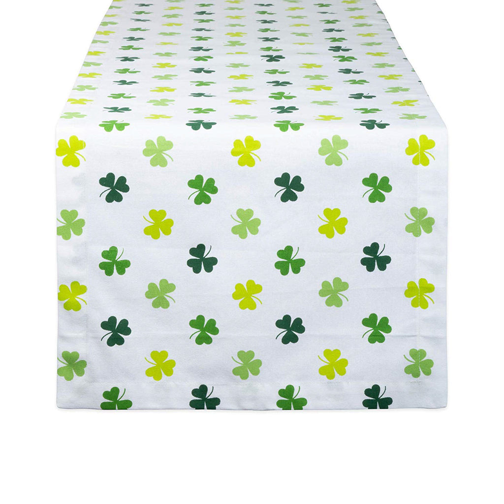 Shamrock Shake Print Table Runner 14x72