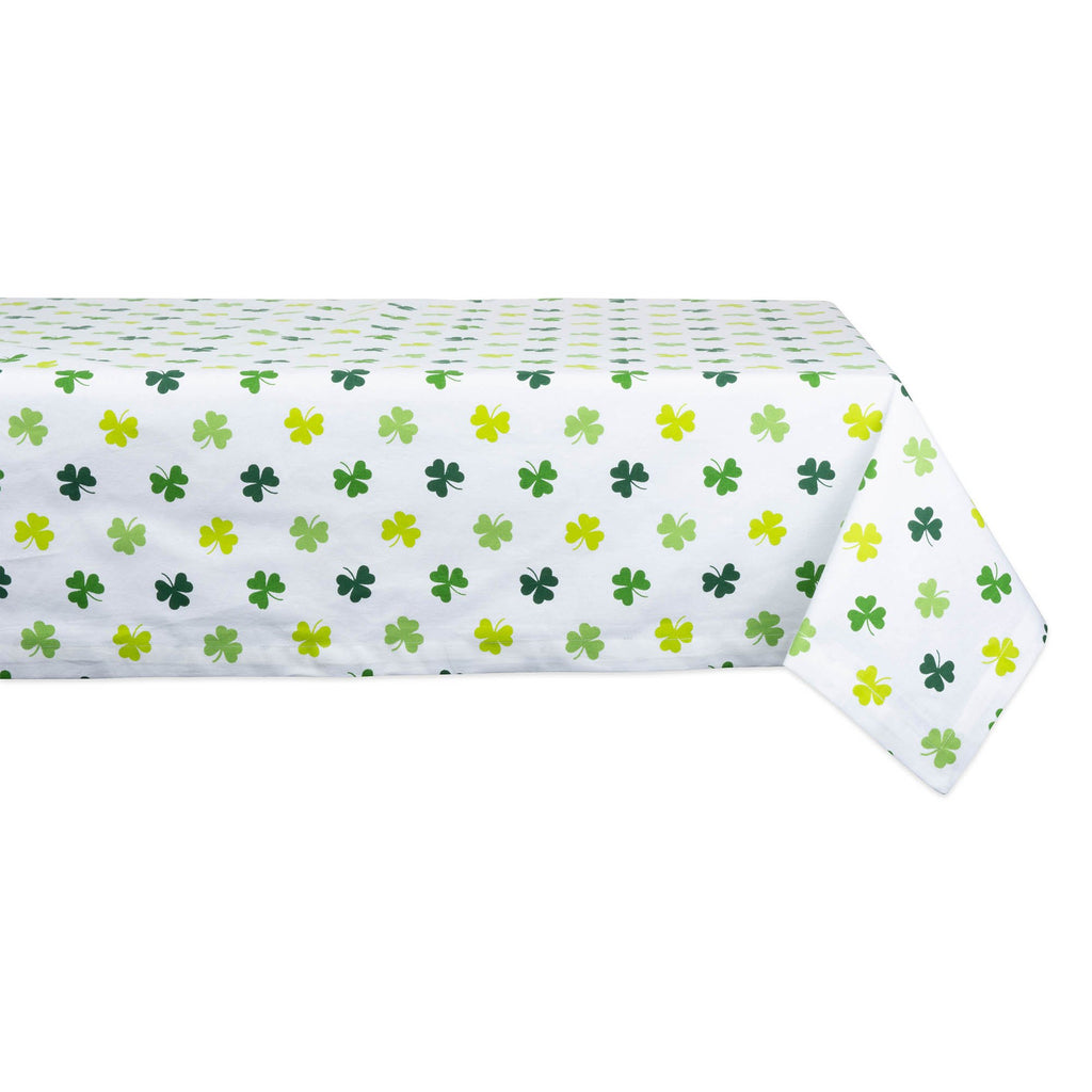 Shamrock Shake Print Tablecloth 52x52