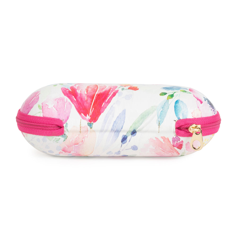 DII Sunglass Cases - Floral/Gold Hearts (Set of 2)