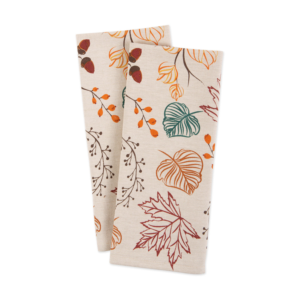 DII Thankful/Grateful Thanksgiving Embroidered Dishtowels (Set of 3)