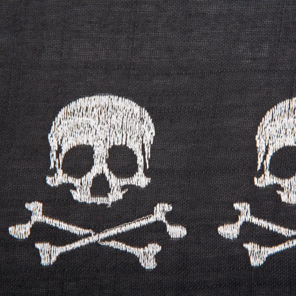 DII Skulls Embroidered Placemat (Set of 4)