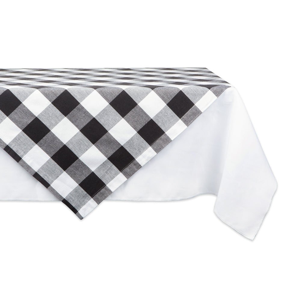 Black Buffalo Check Table Topper 40x40