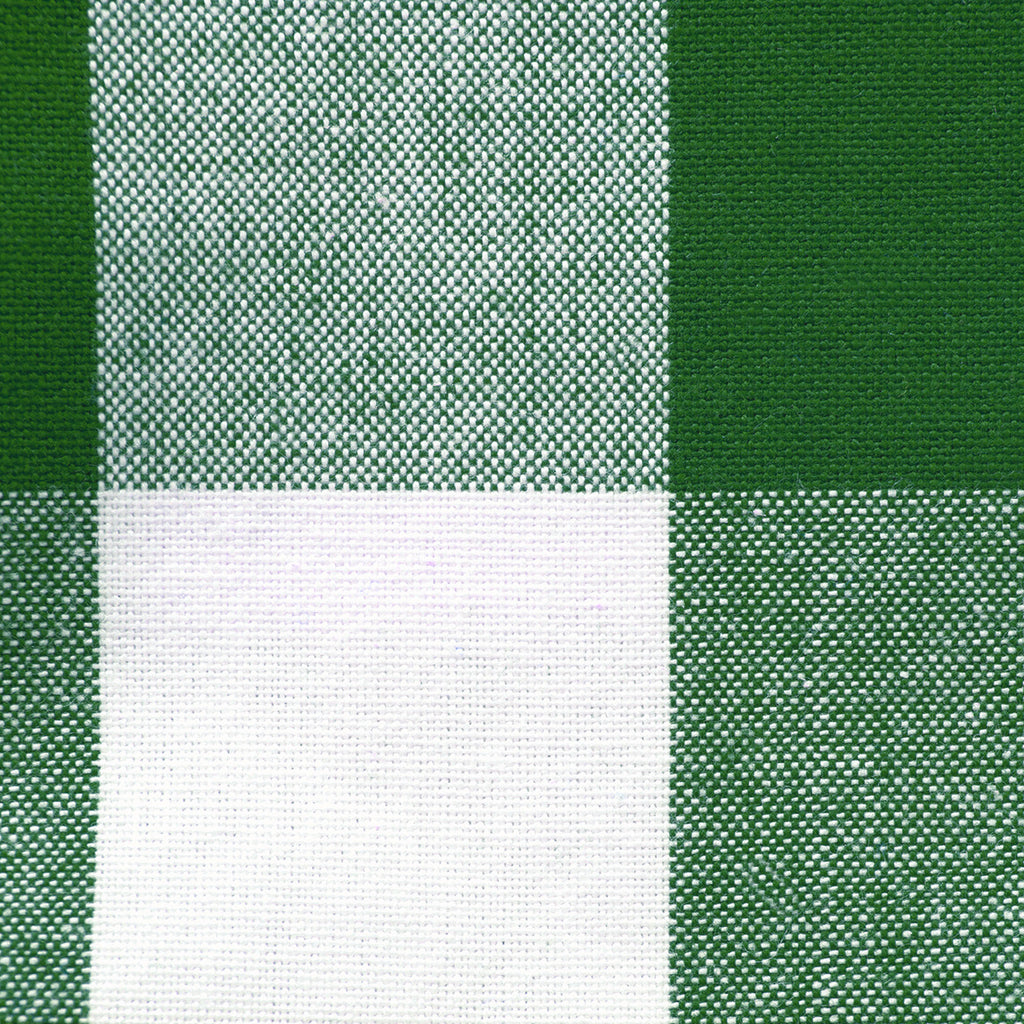 DII Shamrock Green Buffalo Check Table Topper, 40x40""