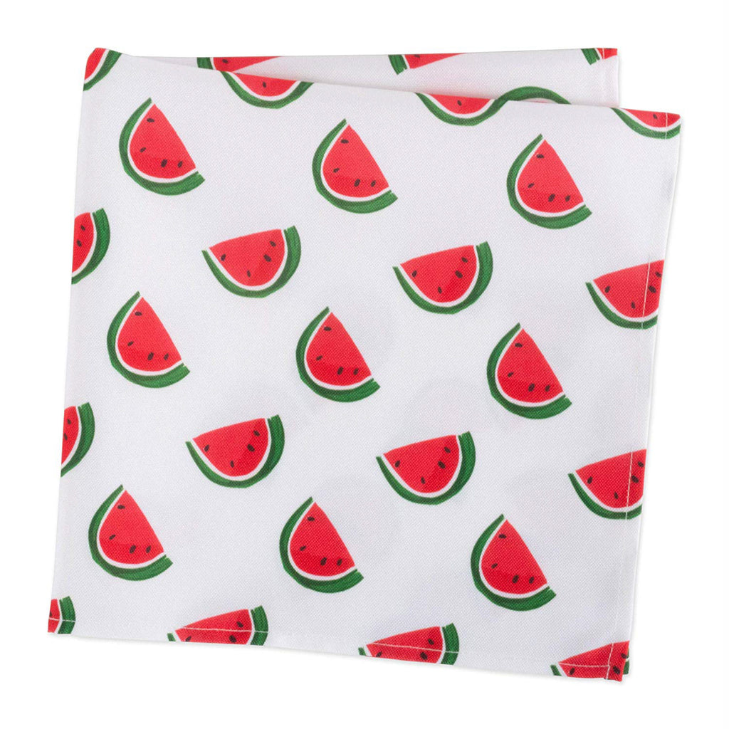 DII Watermelon Print Outdoor Napkin (Set of 6)