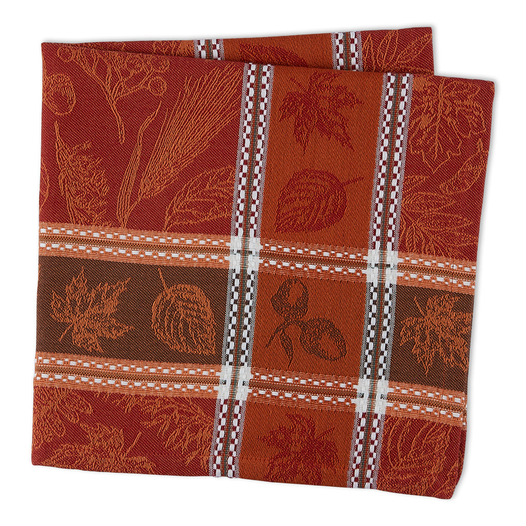 DII Harvest Botanical Jacquard Napkin (Set of 6)