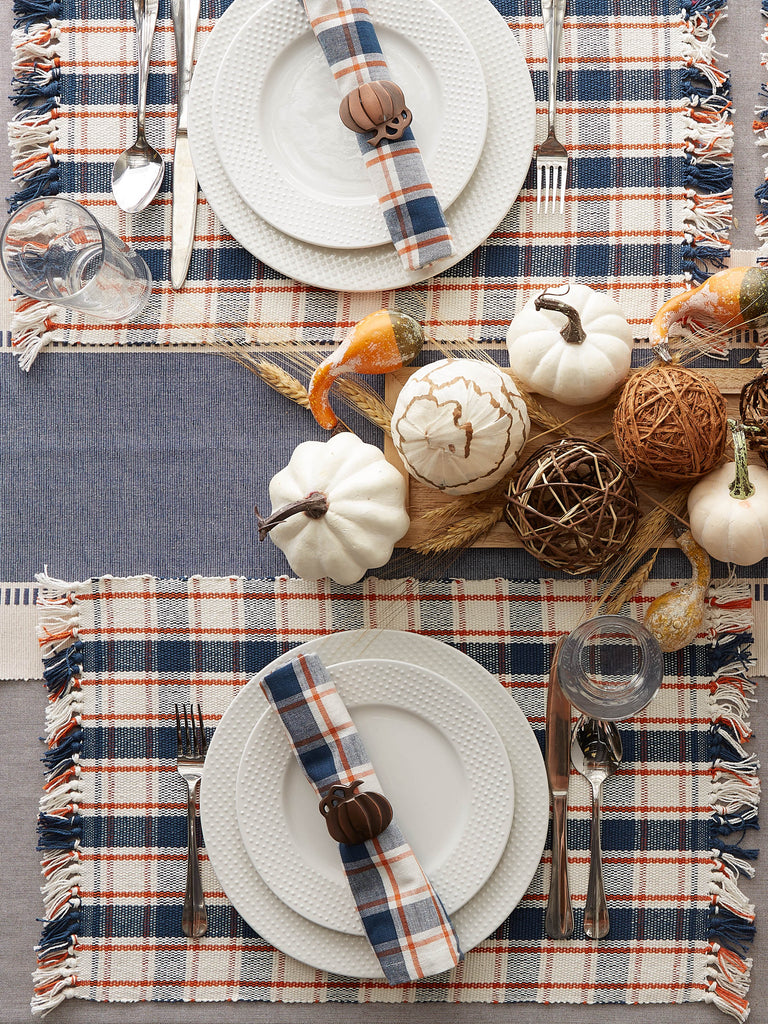 DII Autumn Farmhouse Plaid Napkin (Set of 6)