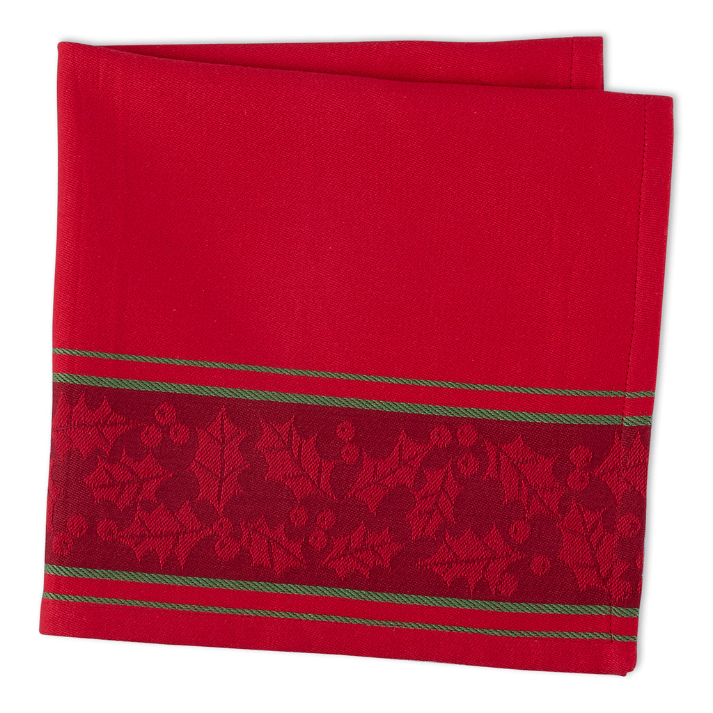 DII Holly Stripe Jacquard Napkin (Set of 6)