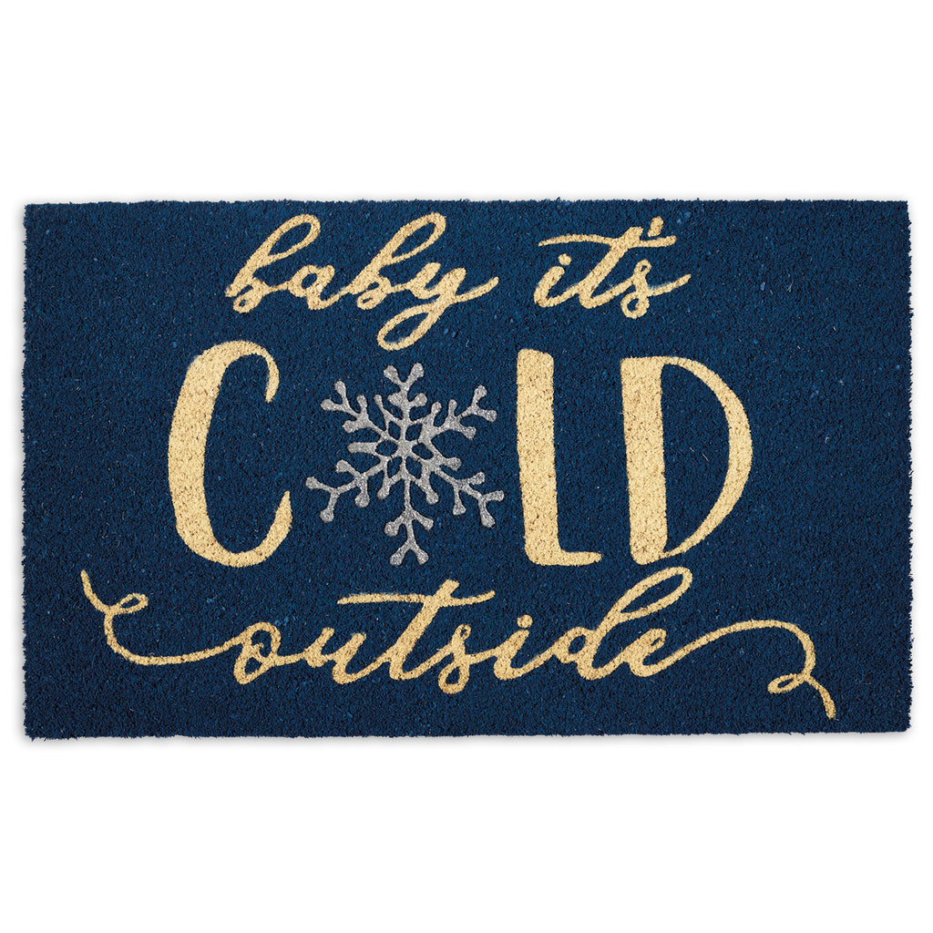 Baby Its Cold Doormat