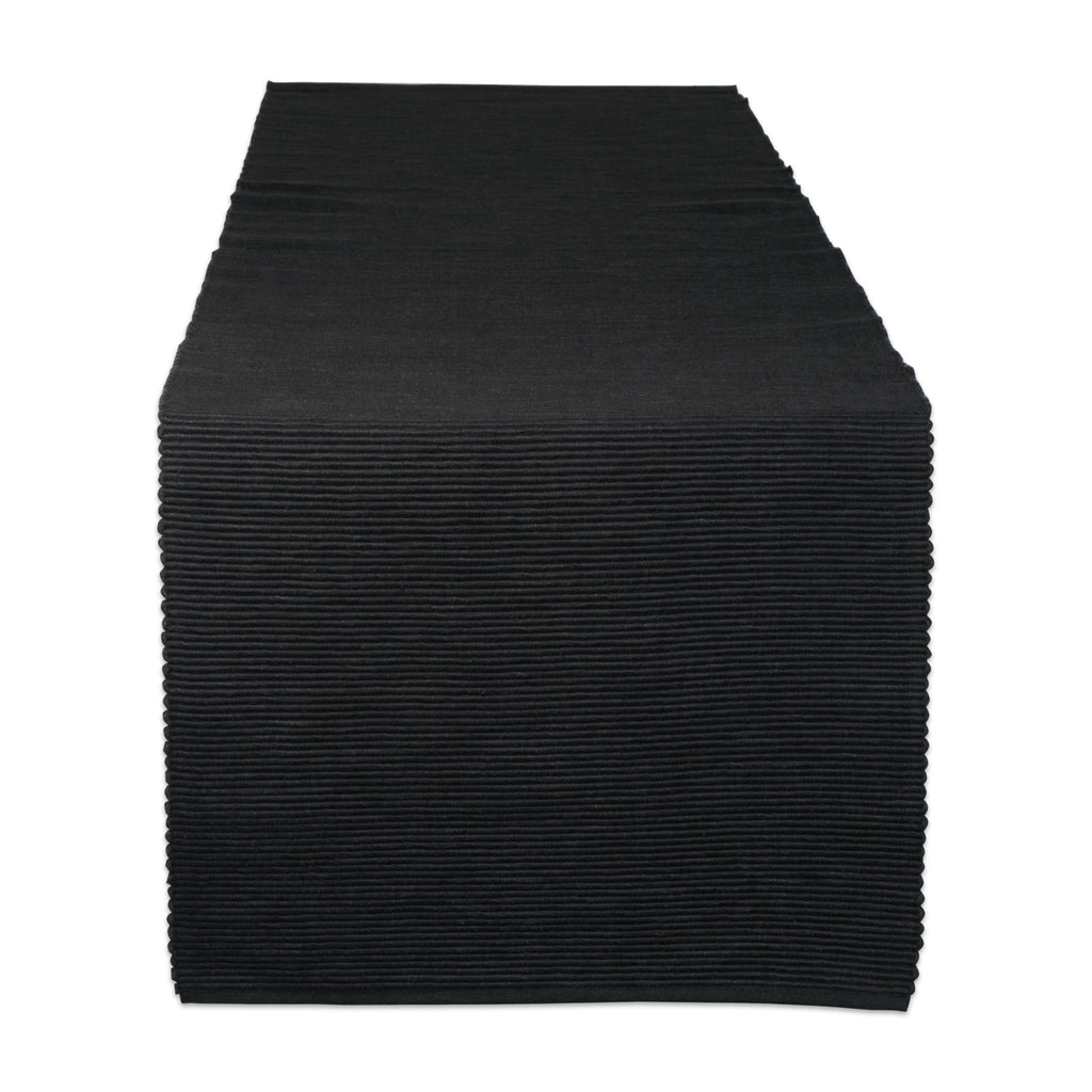 Black Table Runner 13x72