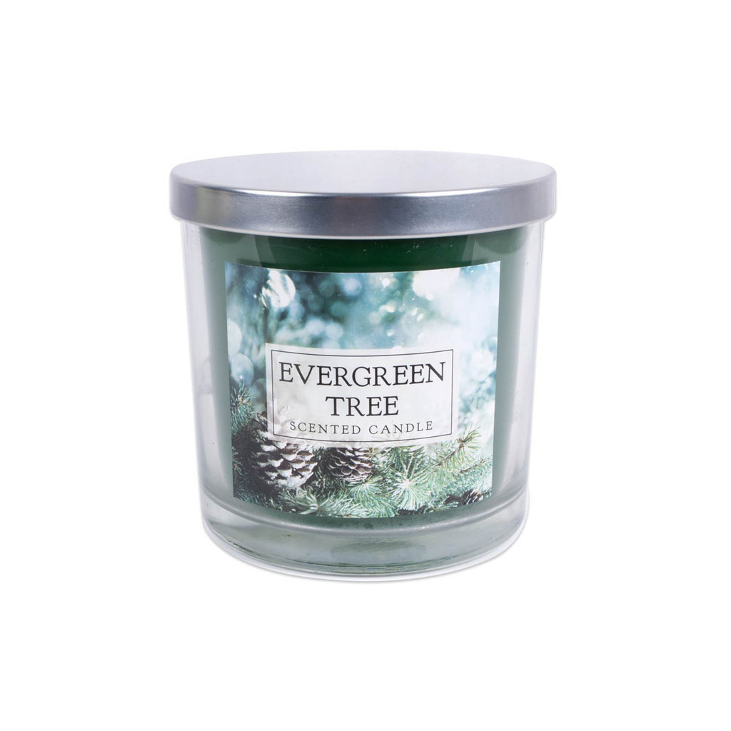 Evergreen Tree 3 Wick Scented Candle