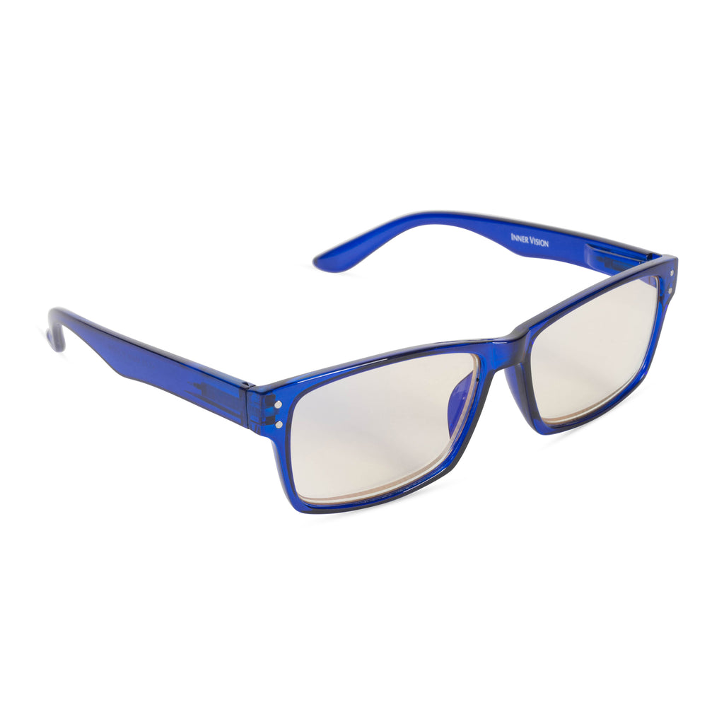 Computer Reading Glasses Blue 1.75