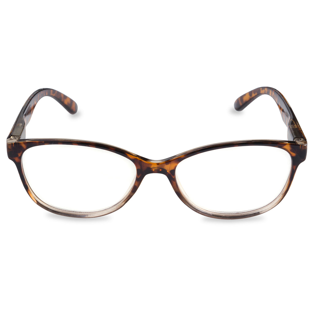 DII Womens Tortoise Reading Glasses Brown 1.25