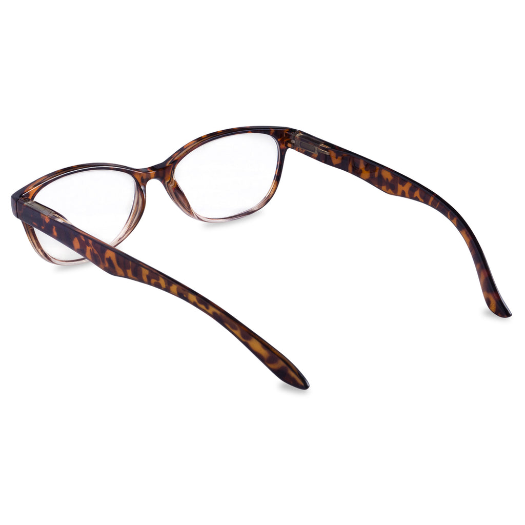 DII Womens Tortoise Reading Glasses Brown 2.25