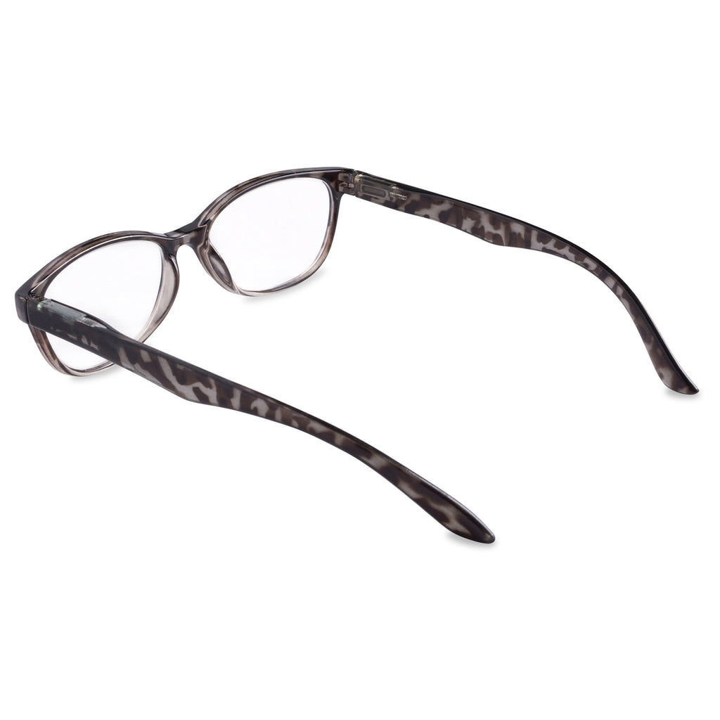 DII Womens Tortoise Reading Glasses Grey 1.5