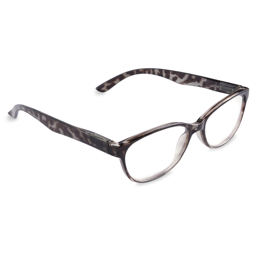 Womens Tortoise Reading Glasses Grey 4.0
