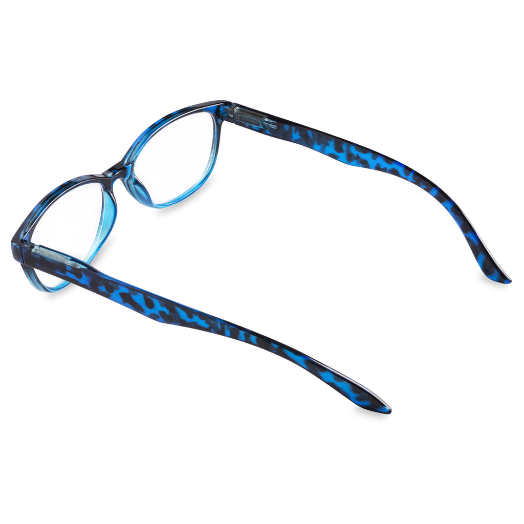DII Womens Tortoise Reading Glasses Blue 2.25