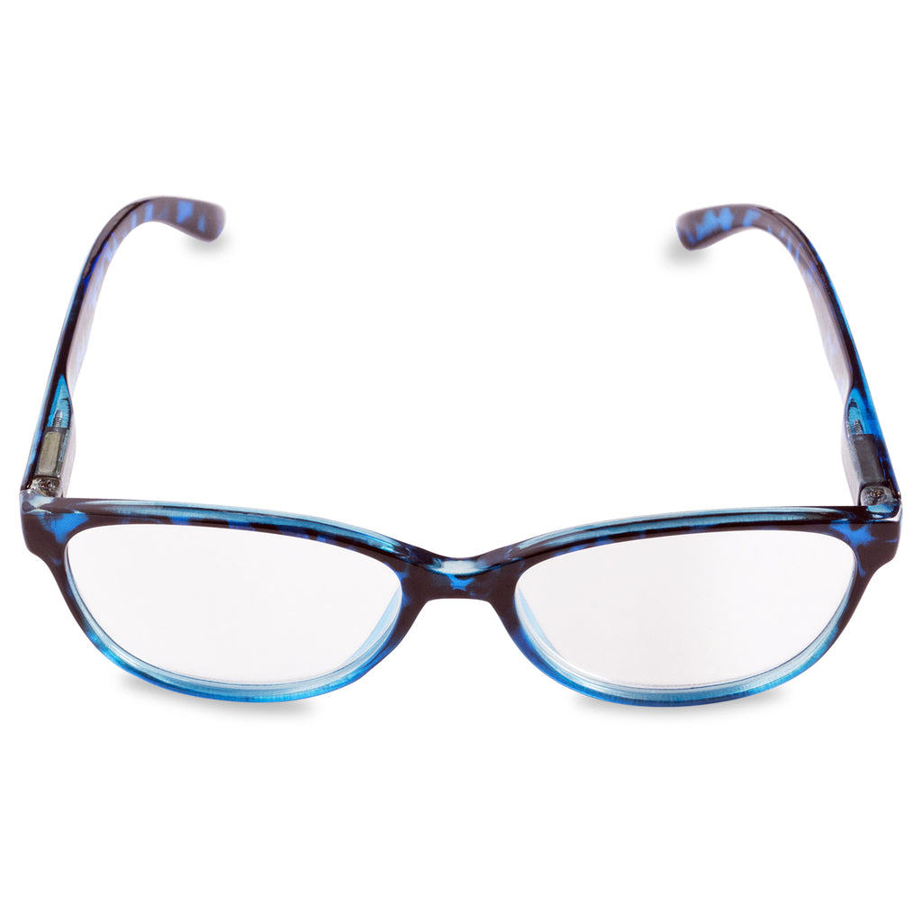 DII Womens Tortoise Reading Glasses Blue 4.0