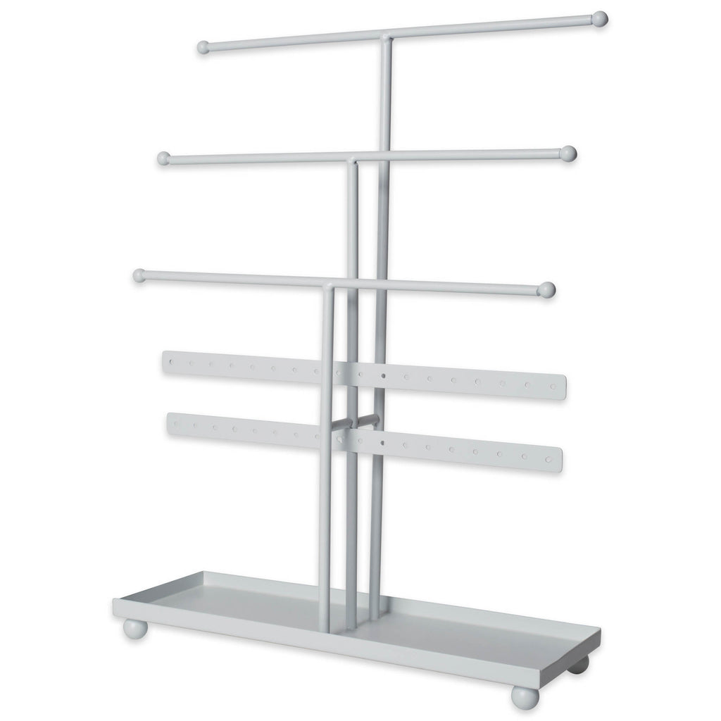 White 3 Tier Jewelry Organizer