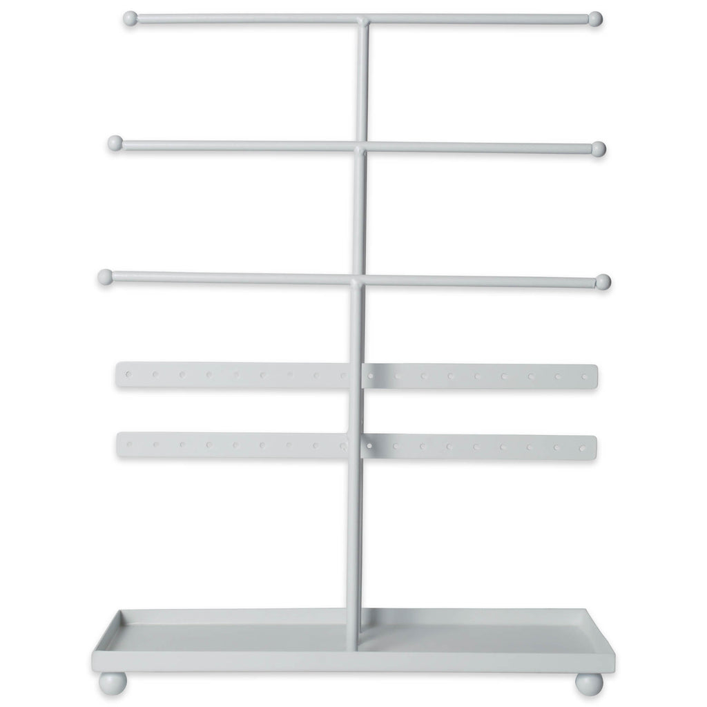 DII 3 Tier Jewelry Organizer White