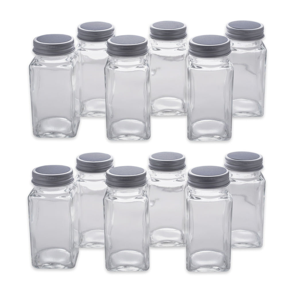 Spice Jar Set With Chalkboard Labels Set/12