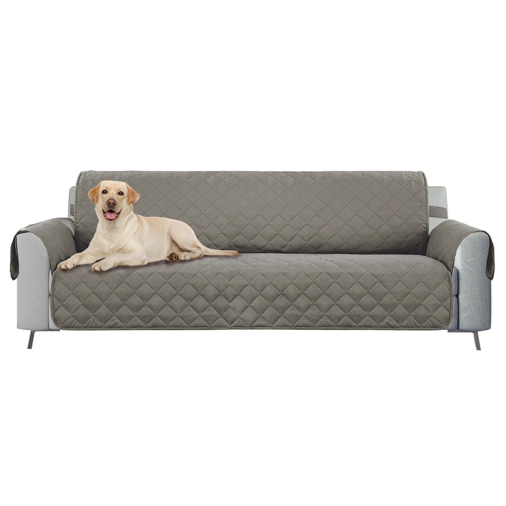 DII Reversible Sofa Cover Grey