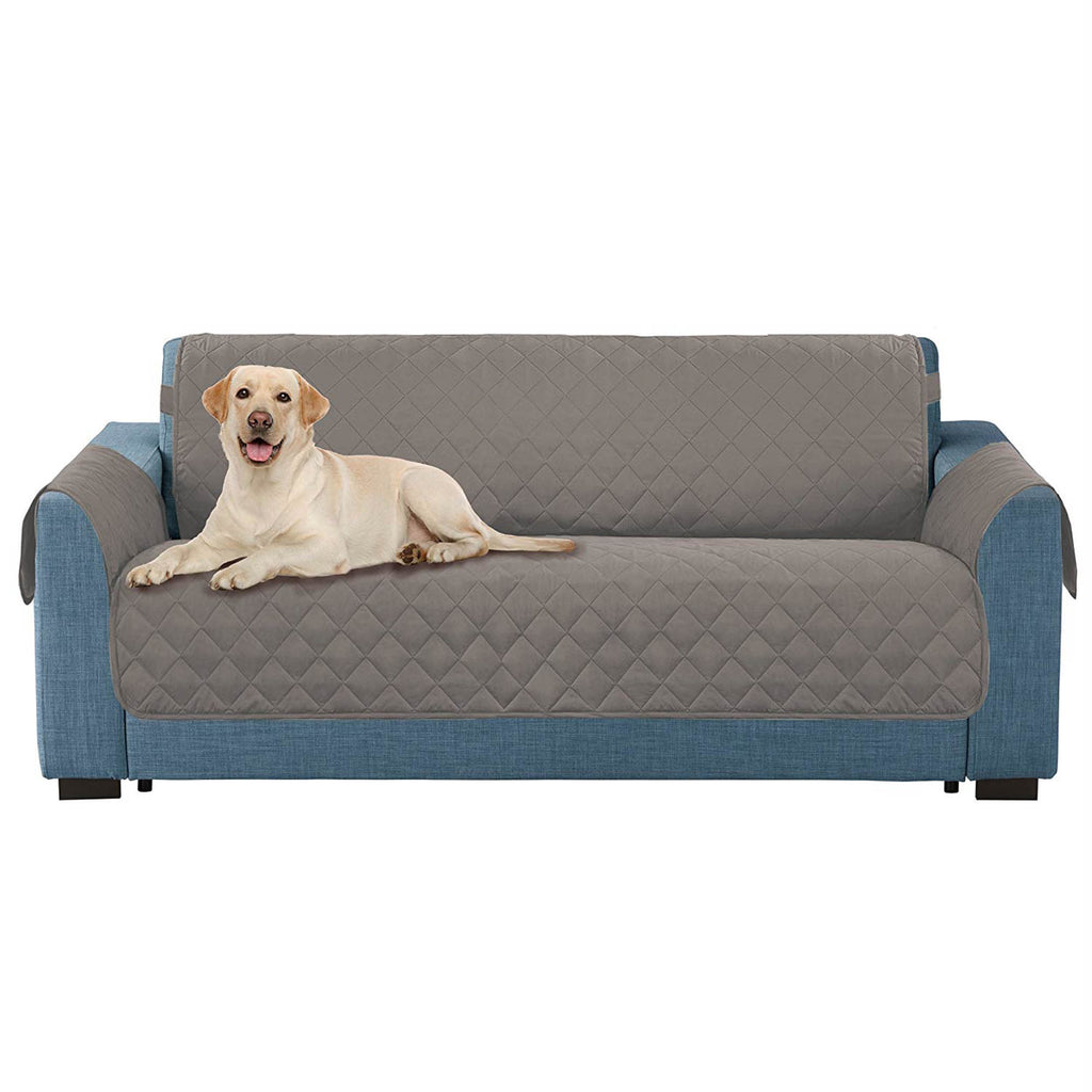 Reversible Sofa Cover Grey