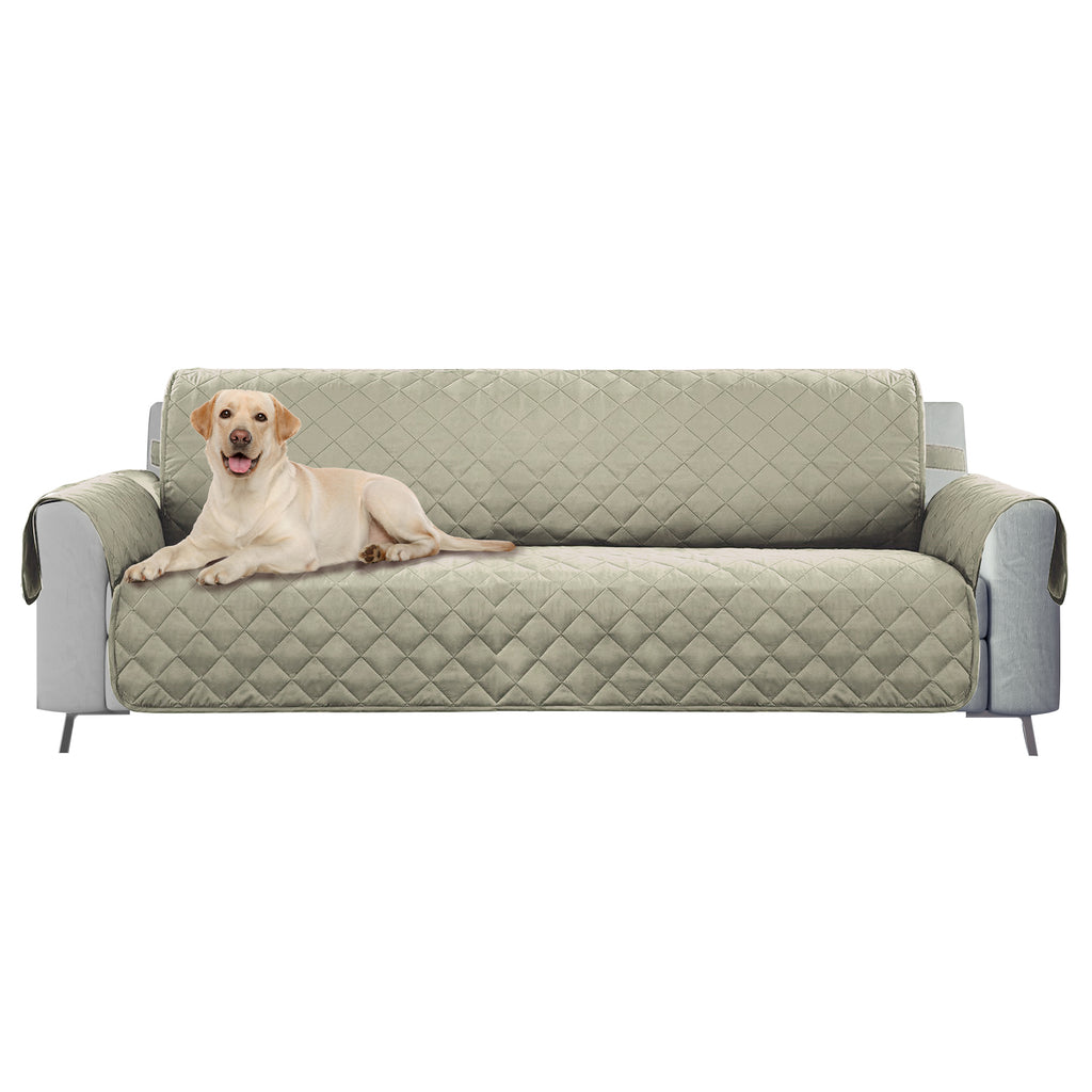 DII Reversible Sofa Cover Beige