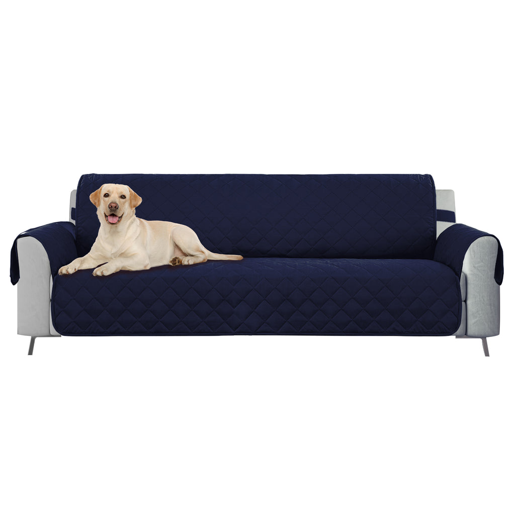 DII Reversible Sofa Cover Navy
