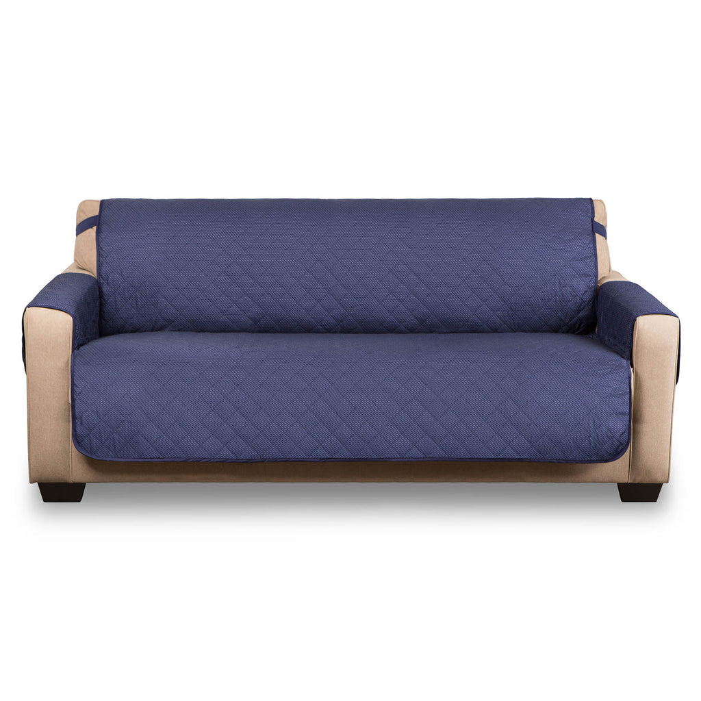 Reversible Sofa Cover Navy