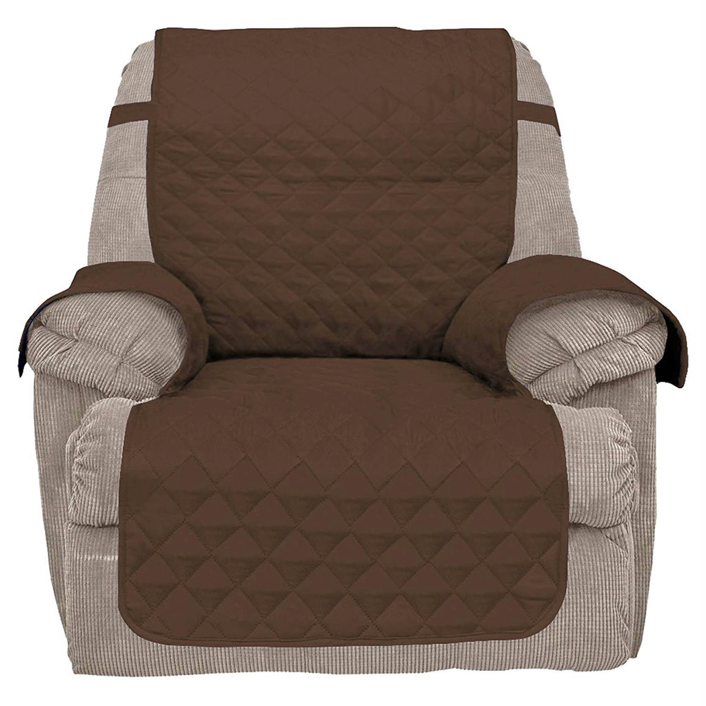 Reversible Recliner Cover Chocolate