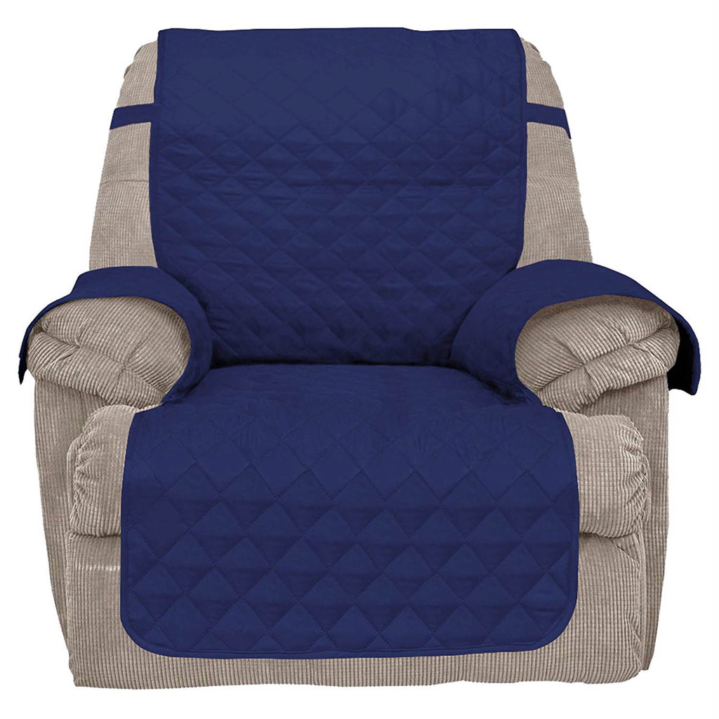Reversible Recliner Cover Navy