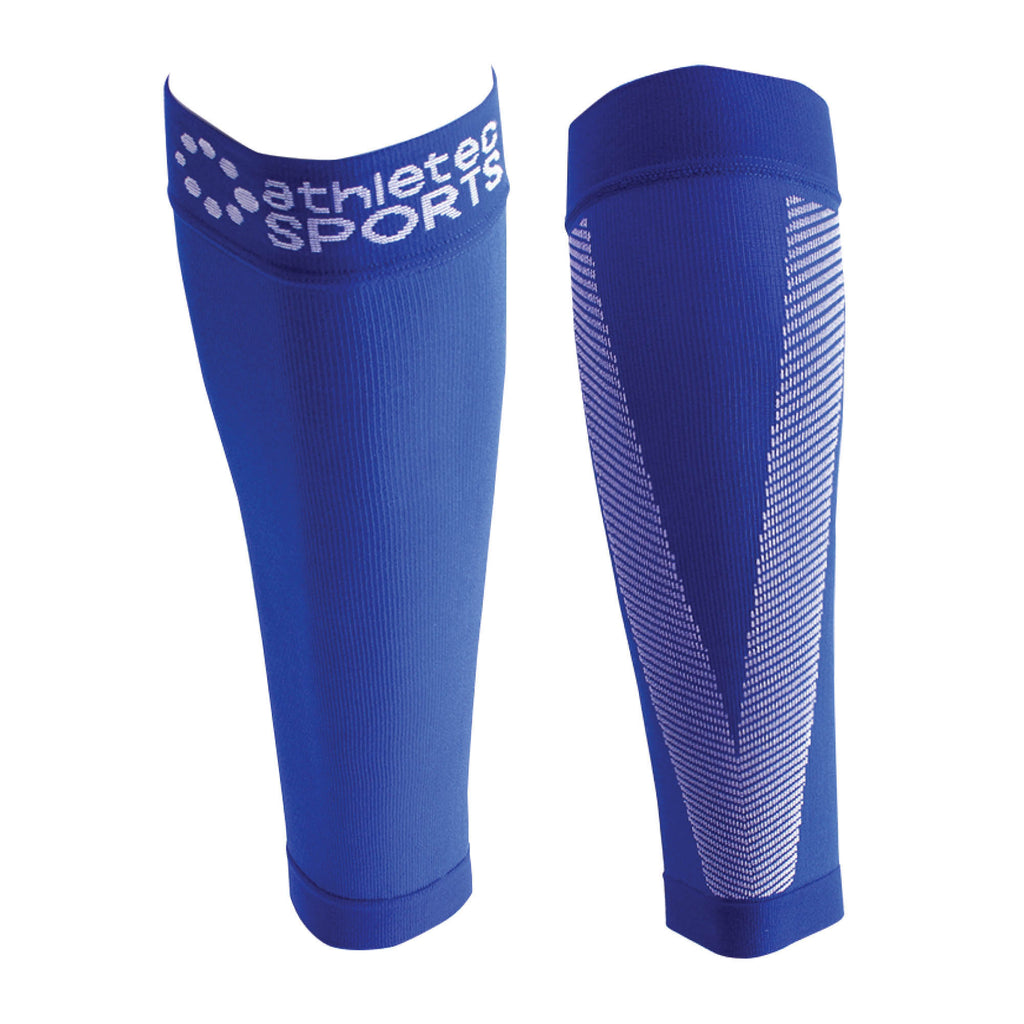 Compression Calf Sleeves Bright Blue L/Xl