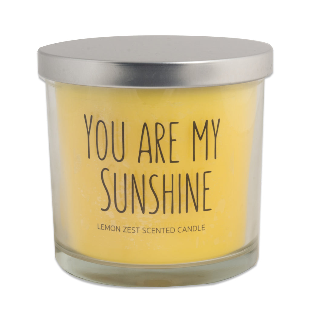 You Are My Sunshine -Lemon Zest 3 Wick Scented Candle